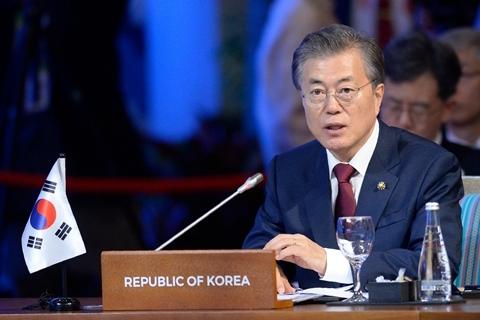韩国总统文在寅将于12月13日起访华