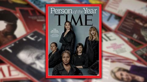 """""""打破沉默者""""当选《时代周刊》2017年度人物"""