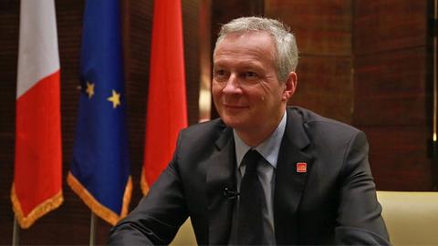 【一语道破】布鲁诺·勒梅尔:法德双边关系是欧洲一体化的核心