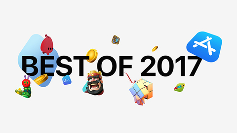 苹果发布2017最受欢迎App榜单