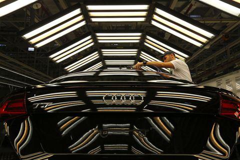豪华车三强前11个月销量胶着 奥迪卫冕尚有希望