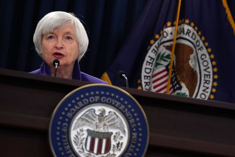 美联储年内第三次加息 上调明年经济增速