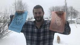 印有特朗普漫画头像的狗粪清理袋年销售金额超过15万美元