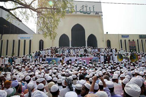 耶路撒冷地位争议引伊斯兰世界反弹 孟加拉原教旨组织借机造势