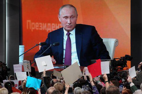 普京争取连任俄罗斯总统 谈自己为何没有强劲对手
