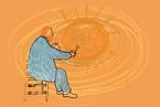 炽爱文森特的理科方式:变异花序、模拟漩涡和复原紫色