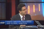 吉利收购沃尔沃集团8.2%股权 成为第一大股东