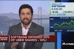 美媒:软银以七折购入Uber15%股份