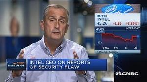 英特尔CEO:谷歌研究员发现了芯片漏洞
