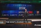 对道指突破25000点贡献最大的是哪5只股票?