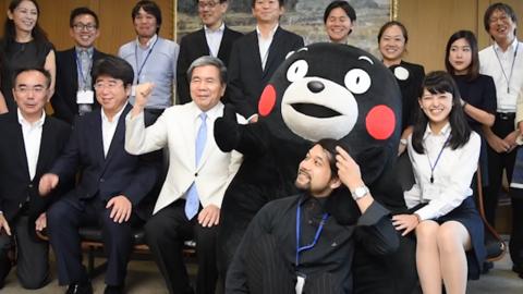 """日本解禁海外企业""""熊本熊""""销售禁令"""