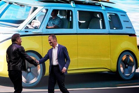 AI·CES 英伟达和百度、大众、Uber等达成合作  股价创新高