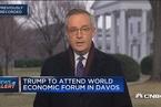 """特朗普将出席达沃斯论坛 宣扬""""美国第一""""议题"""