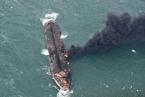 """东海轮船相撞追踪:""""桑吉""""轮按规则似应给""""长峰""""让路"""