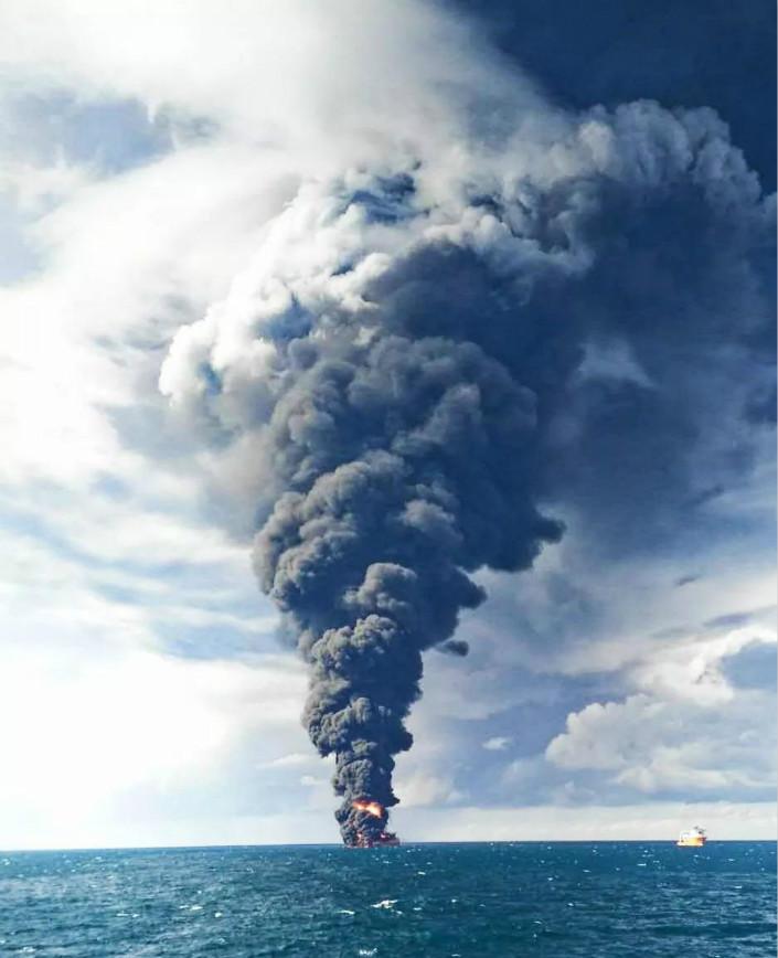 All 32 People Aboard Burning Oil Tanker Presumed Dead, Iran Says