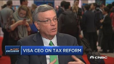 Visa CEO:比特币是商品 而非支付系统中的玩家