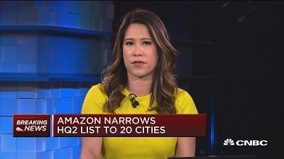 亚马逊将第二总部落脚的备选城市缩小到20个