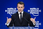 2018冬季达沃斯|马克龙:法国将重回欧盟核心