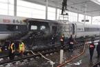 青岛开往杭州G281次高铁着火 没有人员伤亡