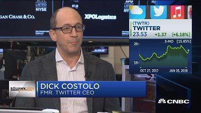 推特前CEO:Facebook正在从推特的老地盘撤出