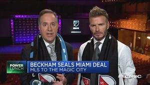 贝克汉姆于美迈阿密成立自己的球队 加入美国足球大联盟