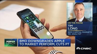 蒙特利尔银行资本市场:为什么我们要下调苹果评级