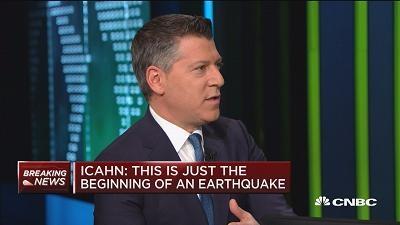 """伊坎谈美股""""黑色星期一"""":这只是地震的开始"""