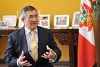 专访秘鲁大使:我们和美国虽近 但利益与中国相通
