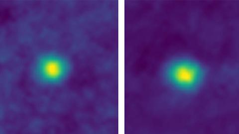 NASA新视野号拍下距离地球最远的照片