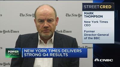 《纽约时报》CEO:10年内应不会停止发行纸质产品
