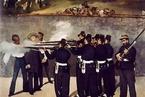 多年之后,当墨西哥皇帝马西米连诺面对行刑队