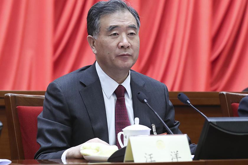 汪洋当选第十三届全国政协主席 24人当选副主席