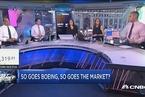 讨论:波音股价下跌对市场有何意味