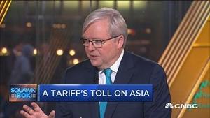 陆克文:中国市场准入是美国最在意的问题