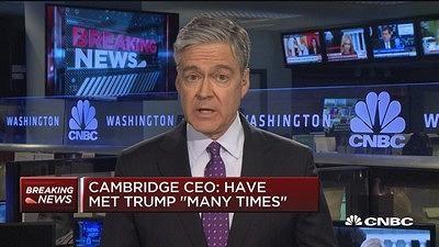 剑桥分析CEO秘密录像:曾多次面见特朗普