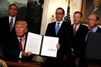 特朗普政府将宣布针对中国进口品关税 限制中企投资
