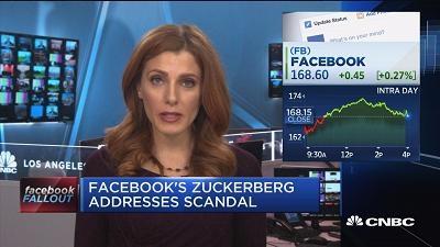 扎克伯格打破沉默 对数据泄露表示道歉