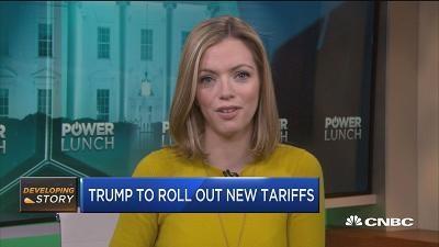 特朗普对华贸易限制或将分两轮进行