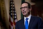 美财长:若中美谈判顺利可避免高额关税