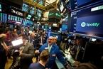 Spotify上市首日涨近13% 市值达265亿美元