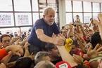 """巴西前总统卢拉涉腐入狱 """"穷人英雄""""欲靠大选翻身"""