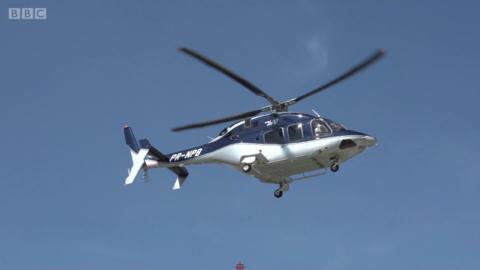 圣保罗交通拥堵 乘直升机上班成通勤新宠