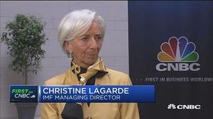 拉加德:贸易问题需要在多边框架下解决