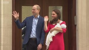 英国凯特王妃诞下第三胎 小王子出世了