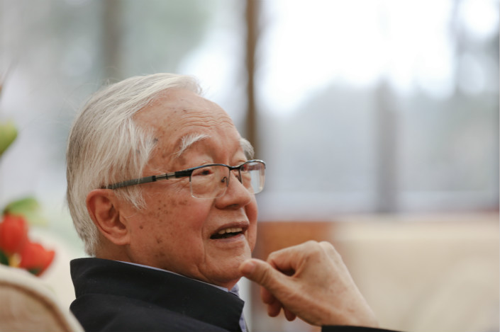 Economist Wu Jinglian. Photo: VCG
