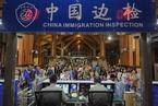 海南实施59国免签新政 首批免签游客飞抵三亚