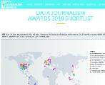 财新数据新闻中心及作品入围2018年全球数据新闻奖