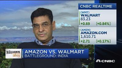 为什么沃尔玛要在印度收购电商?
