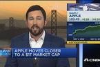 苹果的万亿美元市值冲刺之路