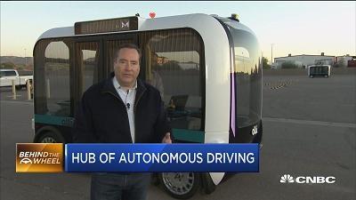 美国亚利桑那:自动驾驶汽车的测试热土